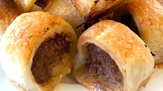 How To Make Mini Party Sausage Rolls