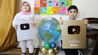طفلة حافظة عواصم العالم - capitals of worlds baby