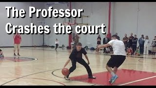 Professor effortlessly VIOLATES defenders
