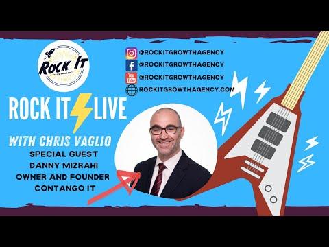 ROCK IT LIVE | Danny Mizrahi | Founder & CEO, Contango IT