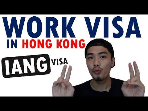 Hong Kong GEP or IANG visa