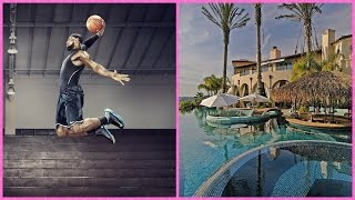 5 Richie Rich NBA PLAYERS LUXIOURS MANSIONS | SALARY 2017