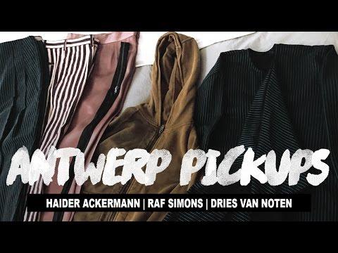 Antwerp Pickups Ft. Haider Ackermann, Raf Simons & Dries Van Noten