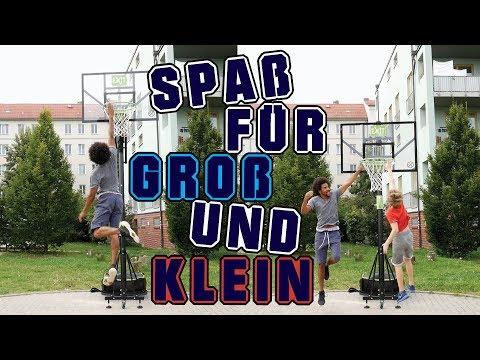 Höhenverstellbare Basketball Korbanlage -...