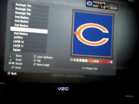 Black Ops Custom Emblem Tutorial - Chicago Bears Logo