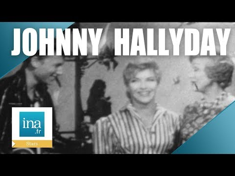 La 1ère télé de Johnny Hallyday   Archive INA