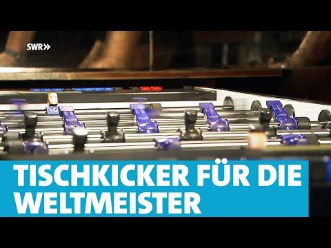 Tischkicker für die Weltmeister - Ullrich Sport in Andernach | made in Südwest | SWR Fernsehen