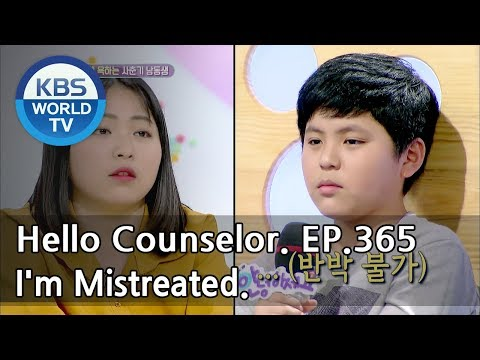 I just wanted to look after my bro on behalf of Mom, but.. [Hello Counselor Sub: ENG,THA/2018.05.21]