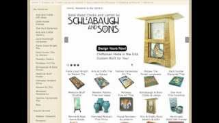 Schlabaugh & Sons Clock Customizer By Artsandcraftstile.com