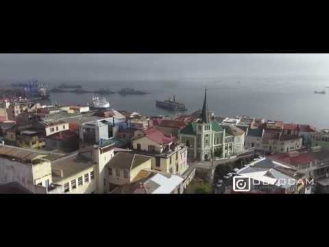 Valparaiso -- Los Jaivas -- imagenes aereas de la ciudad