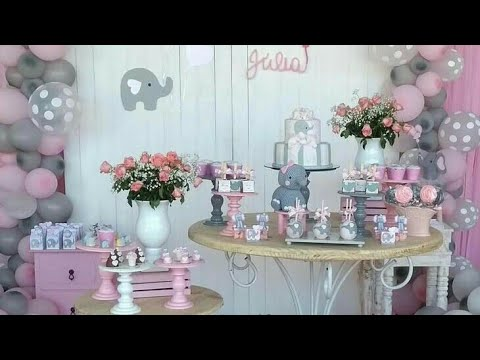 Baby Shower Nina Baby Shower Girl 2018 Decoracion Adornos Ideas
