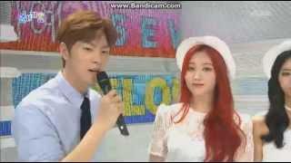 150713 JjongAh (Hong Jonghyun & Yura) 인기가요