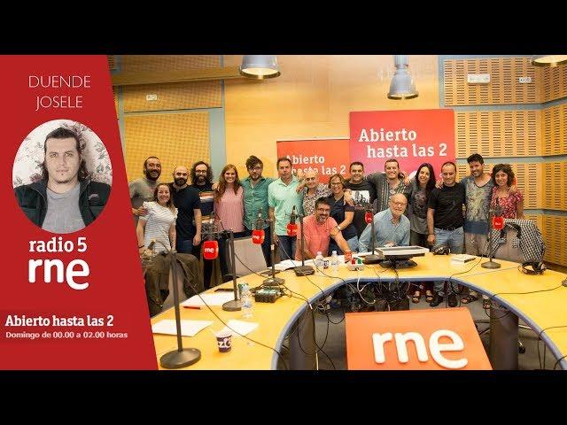 Laboratorio de Antílopez con DUENDE JOSELE en Rne
