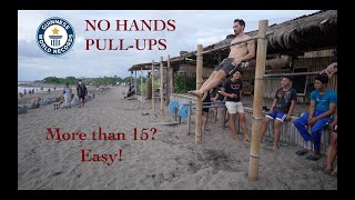 REAL No Hands Pull up Challenge