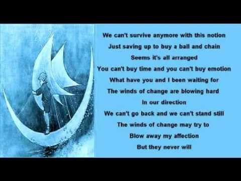 Mike Batt Winds Of Change Lyrics 1980 Youtube