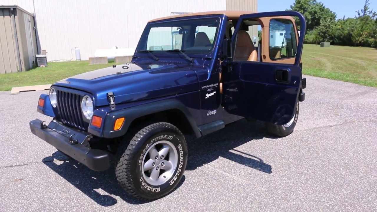 1997 jeep wrangler sport for sale auto 2 tops 4 0l straight 6 org rh youtube com 2014 Jeep Sahara Unlimited Lifted 2013 jeep sahara unlimited owners manual