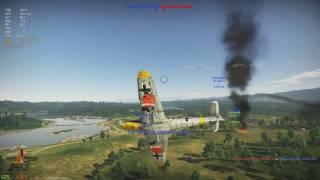 War Thunder - BF 109 G-6, 8 Kill RB Battle