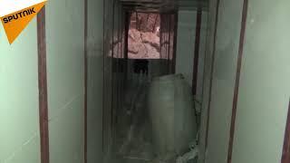بالفيديو... الجيش السوري يضبط أنفاقا أكثر حداثة في الغوطة