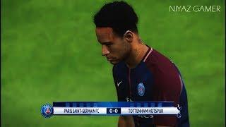 PSG vs TOTTENHAM | Penalty Shootout | PES 2017 Gameplay