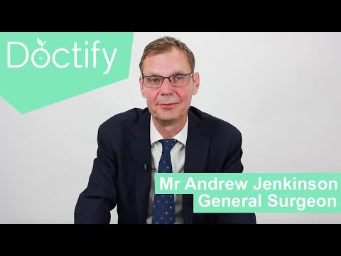 Know Your Local Doctor |  Mr Andrew Jenkinson - General Surgeon