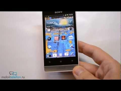 Обзор Sony Xperia Miro (review): внешний вид, игры, тесты, UI