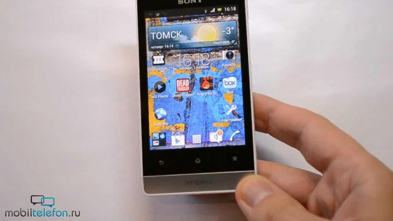 Sony Xperia Miro St23i 4 Gb