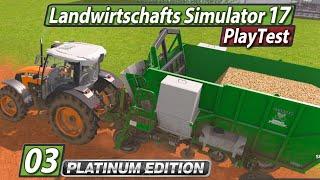 LS17 Platinum PlayTest 🚜 Verkauf und neuer Kipper ► #3 Landwirtschafts Simulator 17 deutsch