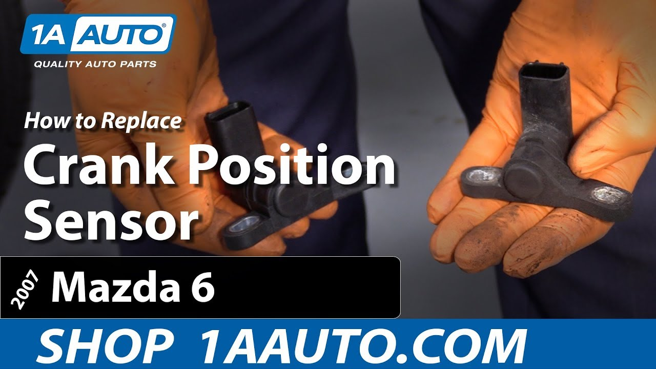 small resolution of how to replace crank position sensor 06 13 mazda 6