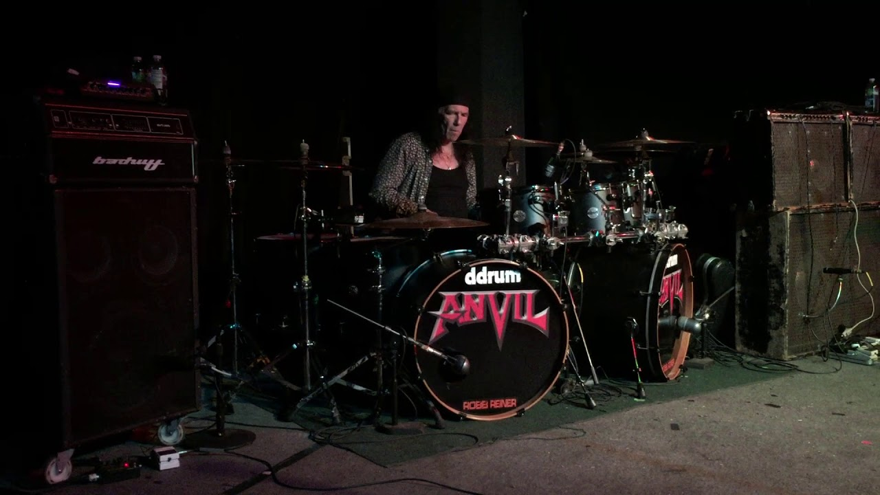 Anvil Live in Memphis, TN May 18,  2018.  Robb Reiner Drum Solo