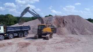 Volvo EC220E Excavator: one trip is all it takes
