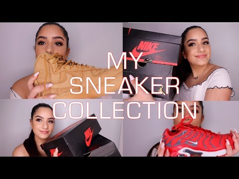 MY SNEAKER COLLECTION! NIKE, ADIDAS & MORE!