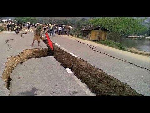 Gempa Skala Besar Tertangkap Kamera