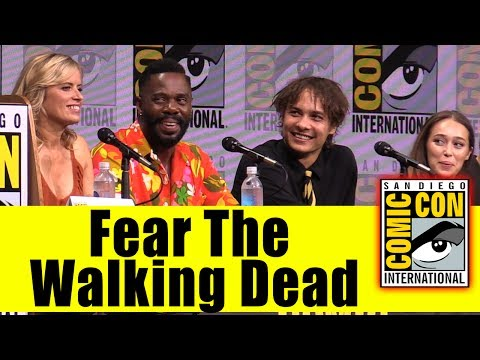 Fear The Walking Dead | Comic Con 2017 Full Panel (Kim Dickens, Frank Dillane, Mercedes Mason)