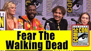 FEAR THE WALKING DEAD | Comic Con 2017 Full Panel (Kim Dickens, Frank Dillane, Mercedes Mason)