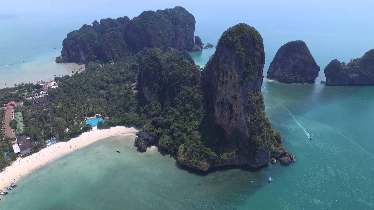 Krabi - Thailand - Railay Beach - 2016 - Week2 - YouTube