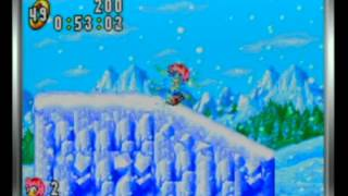 Sonic Advance - Ice Mountain Zone