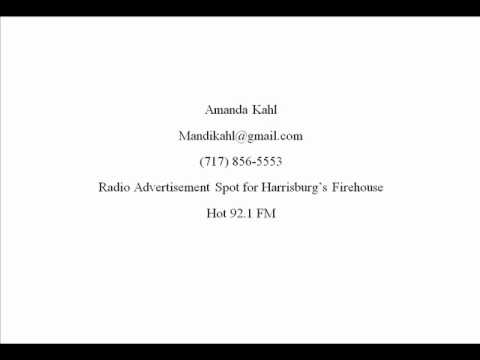 Radio Advertisement Spot for Harrisburg's Firehouse