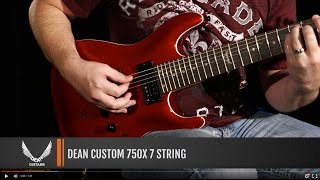 Dean Guitars Custom 750X 7-String
