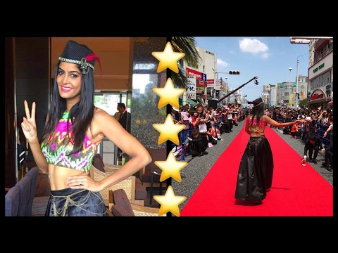 When I walked the Red Carpet in Japan For Okinawa Film Festival   #RickshawaliVlogs 27