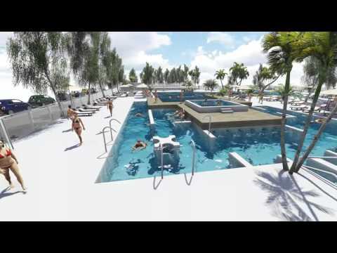 Futures piscines des tamaris portes du soleil youtube - Les tamaris les portes du soleil portiragnes plage ...