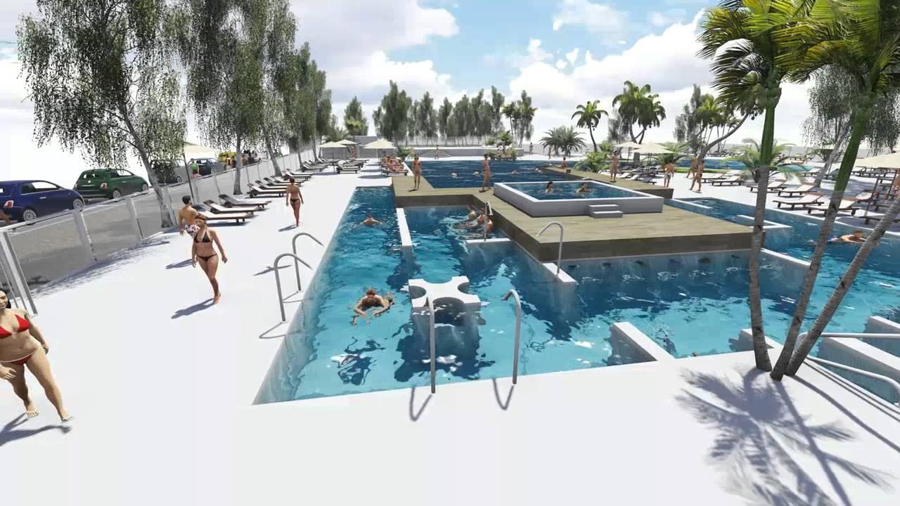 Futures piscines des tamaris portes du soleil youtube for Piscine du soleil nice
