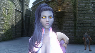 Skyrim Mod Review 124 - WIDOWMAKER'S SECRET TAPE! Overwatch in Skyrim? - Series: Boobs and Lubes