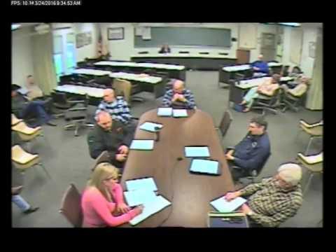 3-24-2016 Policy & Procedure Committee Meeting