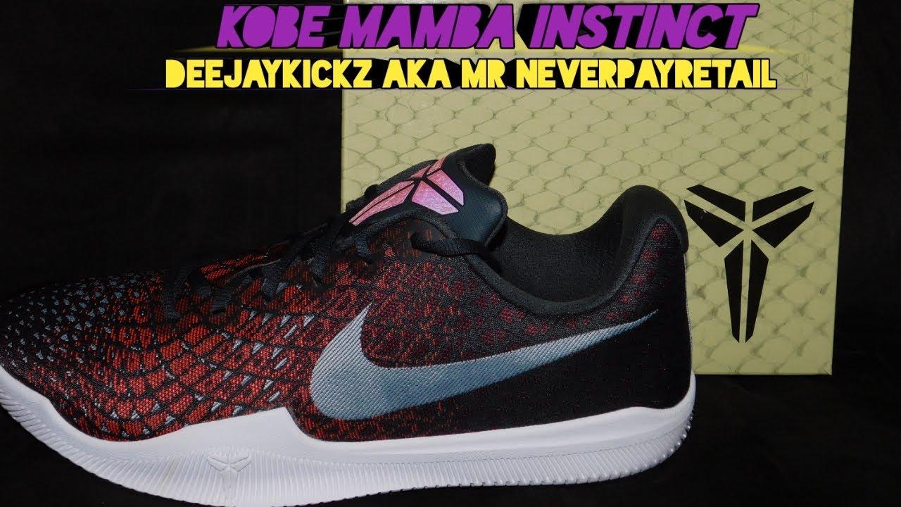 6e72d03661a7 Kobe Bryant Mamba Instinct Shoe Review  Kicks for under 100 dollars ...