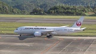 日本航空 Boeing 787 8 Dreamliner(JA842J)広島空港