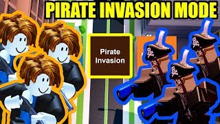 NEW PIRATE INVASION MODE | Roblox Jailbreak Pirate Ship