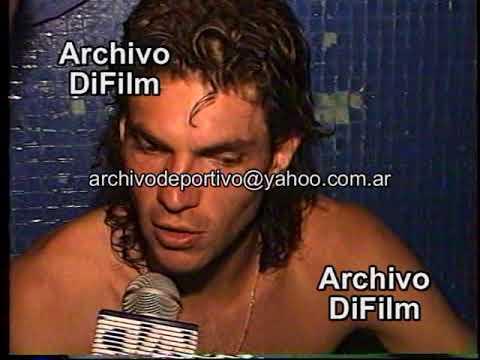 Mauricio Pellegrino - Velez Sarsfield - DiFilm 1993