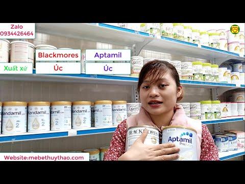 So sánh sữa Blackmores ÚC và Aptamil Úc