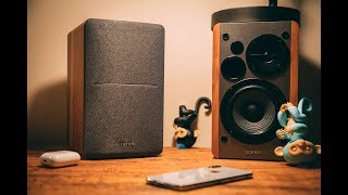 The BEST Bookshelf Speakers under $100!!  (EDIFIER R1280T)