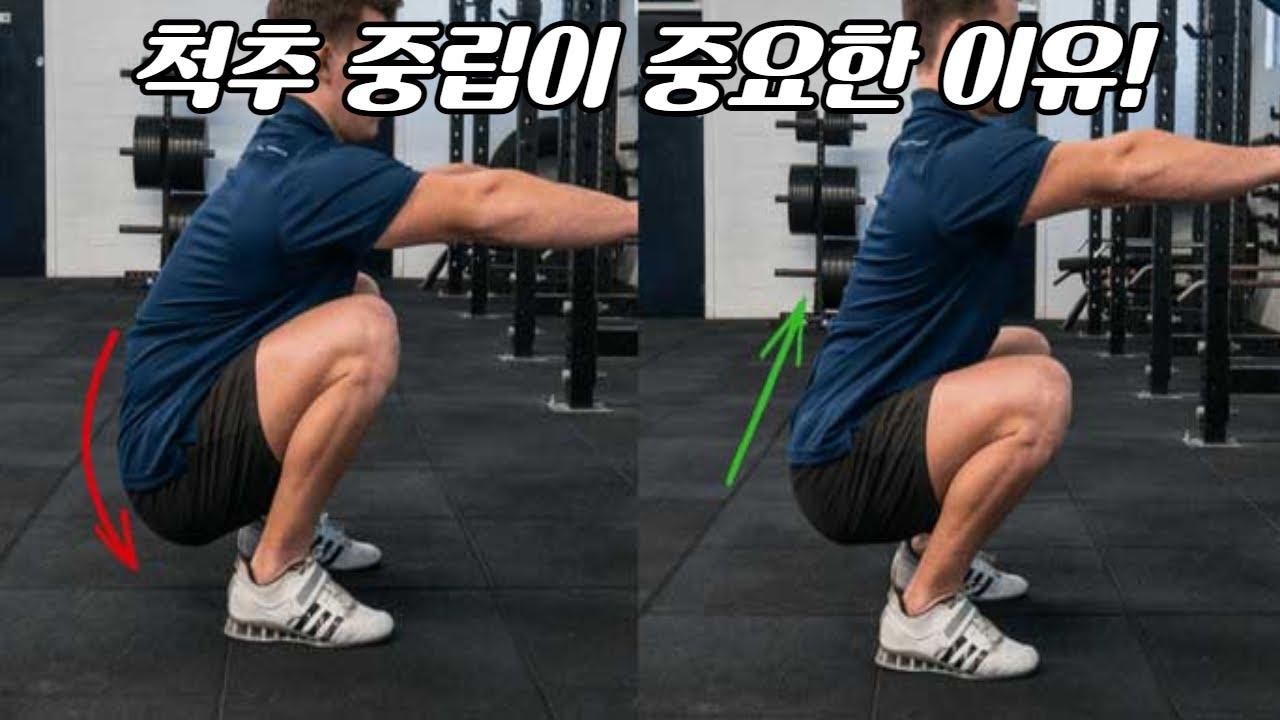 척추 중립이 중요한 이유, 필라테스 요가 웨이트 트레이닝 등 모든 운동에 통용되는 법칙